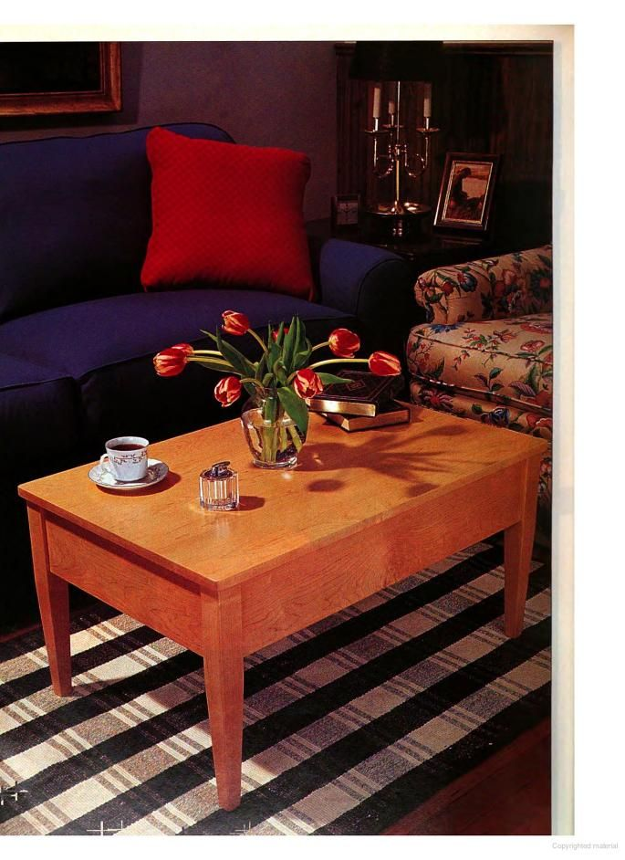 Plans To Build A Lift Top Coffee Table