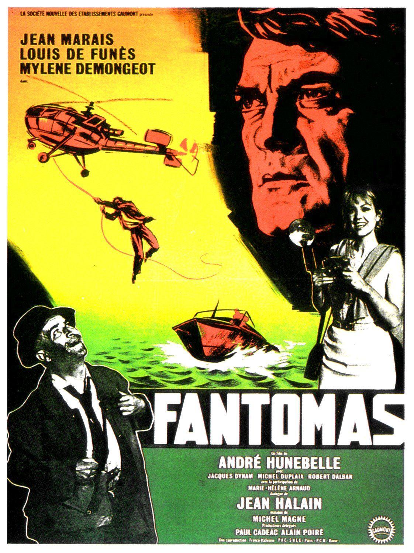 Ni vu ni connu Louis de Funes vintage movie poster