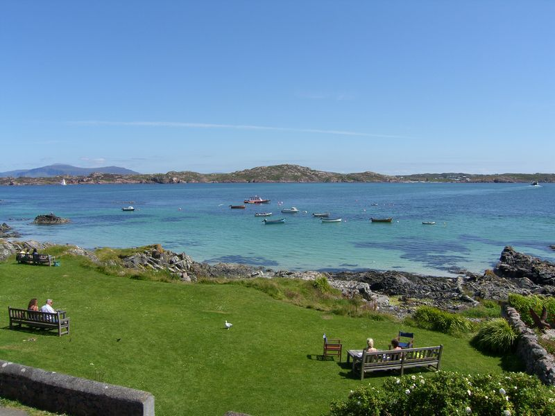 Gardens Of The Argyll Hotel Iona