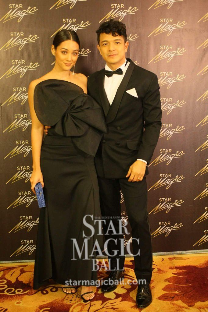Kim Jones And Jericho Rosales Photo From Star Cinema Instagram Star Magic Ball Star Magic Celebrities
