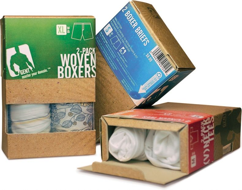 Mens underwear packaging google search empaques for Packaging ropa interior