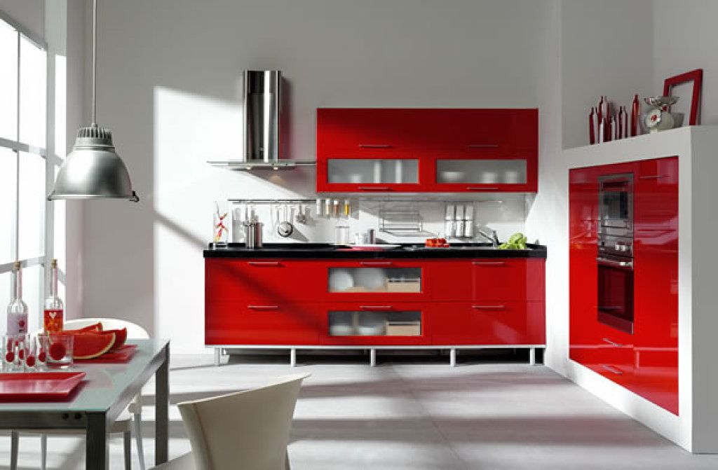 me cansare de la cocina roja???? HOME DREAMS Pinterest Red