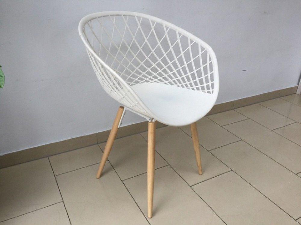 Stuhl Weiss Design Stuhl Weiss Stuhlbeinen Holz Stuhle Modern