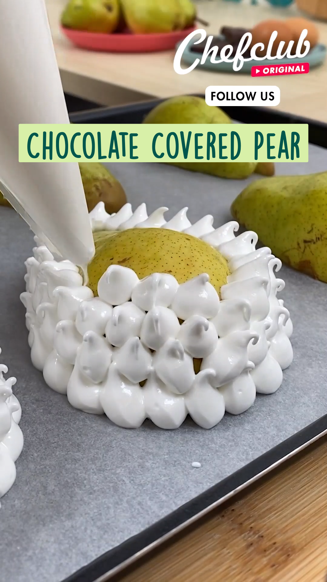 Chocolate Covered Pear