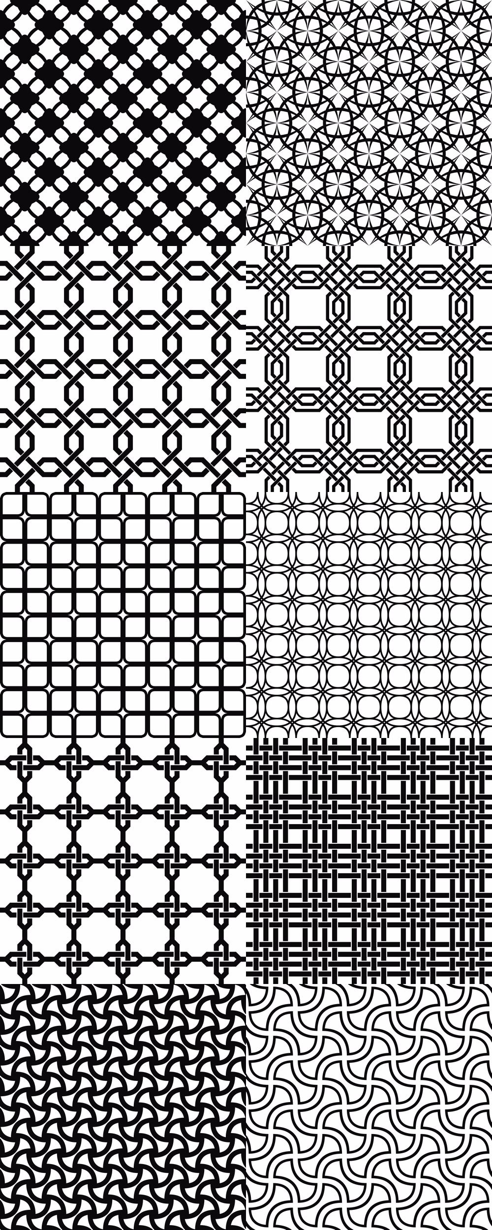 15 seamless grid patterns eps  ai  svg  jpg 5000x5000 in