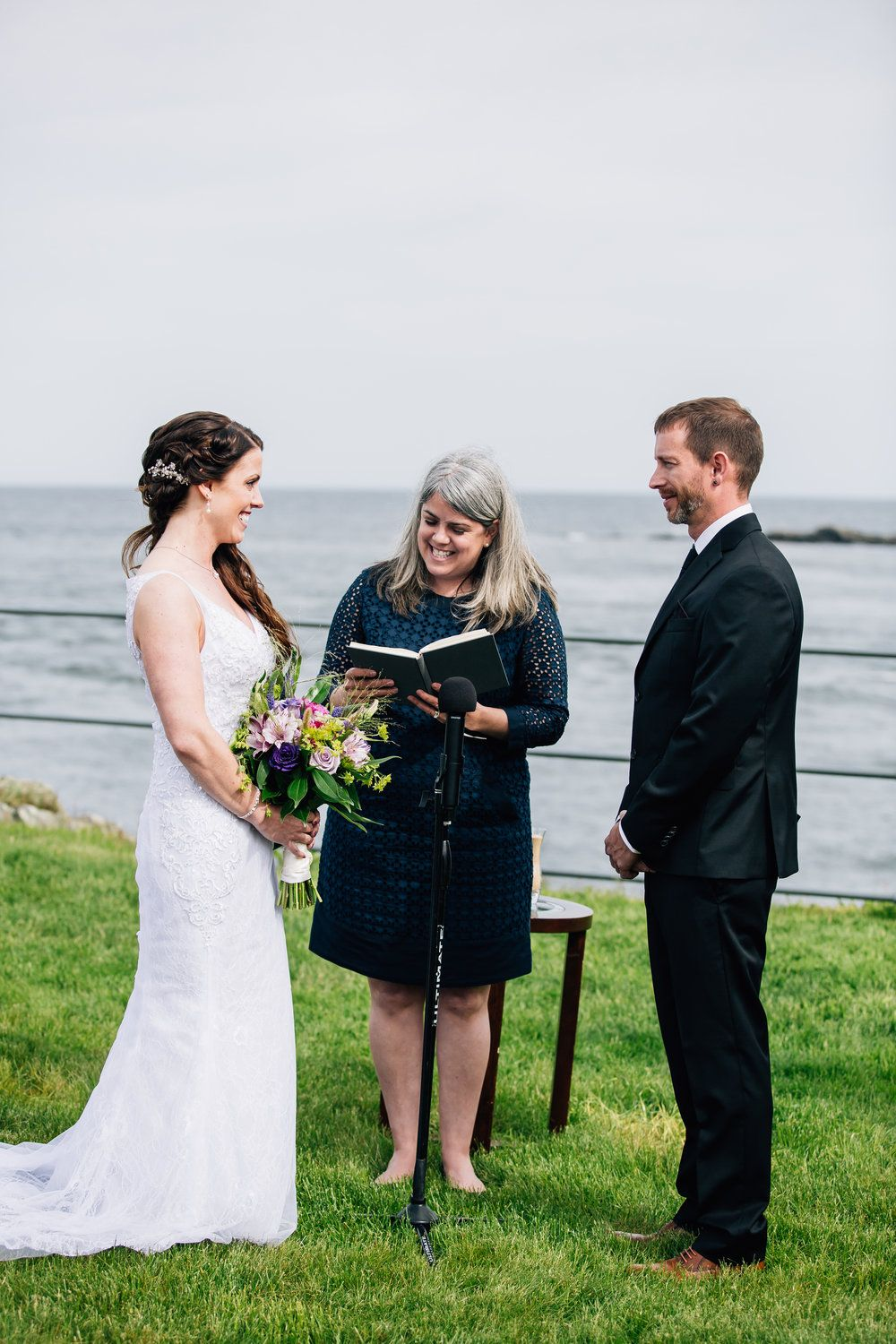 The Day It All Starts York Maine Oceanfront Wedding A Sweet Start Oceanfront Wedding Maine Wedding Wedding Officiant