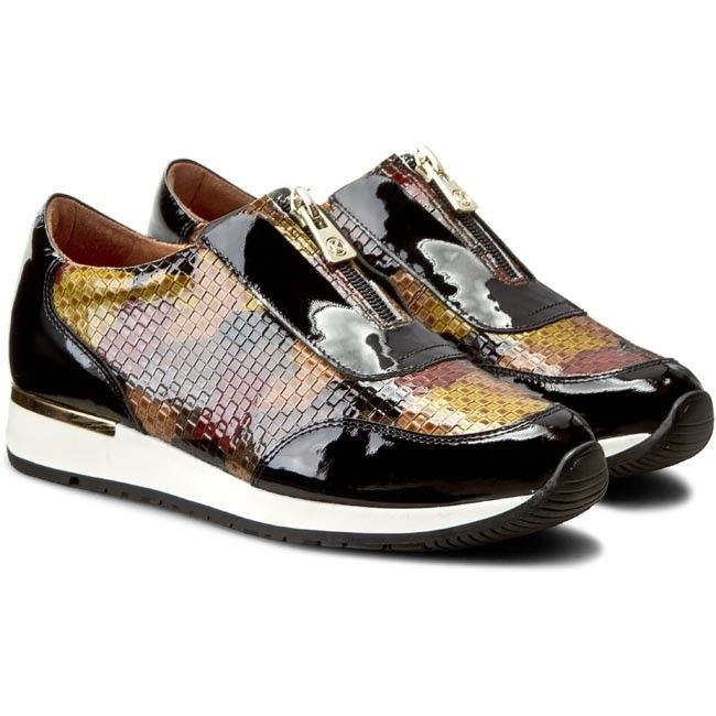 Sneakersy Kazar Jordan 26630 16 92 Czarny Kolorowy Shoes Sneakers Fashion