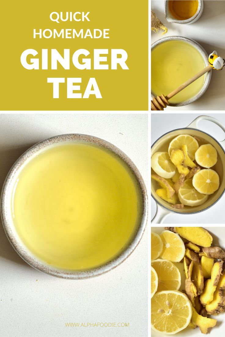 How To Make Ginger Tea (Two Methods + Flavour Options