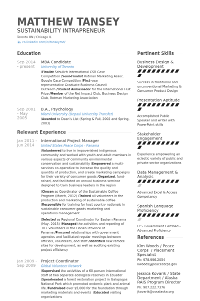Project Management Resume International Project Manager Resume Example  Private  Pinterest