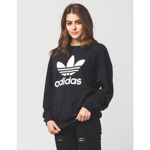 adidas Originals TREFOIL HOODIE Sweat à capuche black