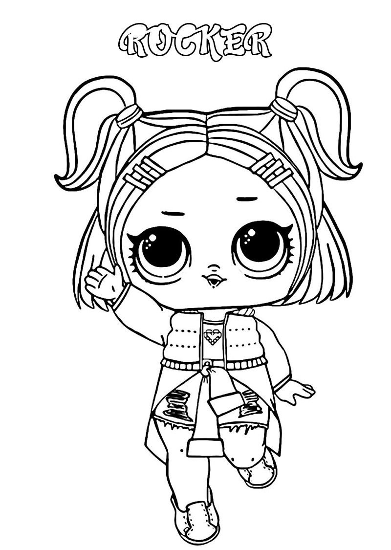 Lol Surprise Dolls Coloring Pages Print Them For Free All The Series In 2021 Cute Coloring Pages Coloring Pages Lol Dolls