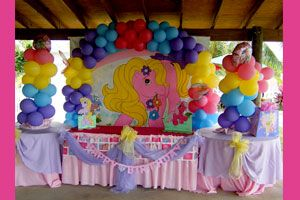 Kids Decorations | At Ease Party | Wynona\'s 2nd Birthday | Pinterest ...