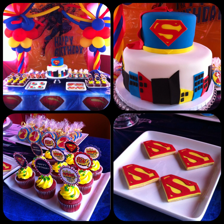Babyshower Superman Birthday