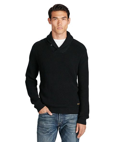 Cotton Shawl-Collar Sweater - Polo Ralph Lauren Cardigan & Full-Zip -  RalphLauren