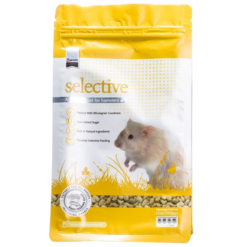 Supreme Pet Foods Supreme Selective Hamster Food Food Animals