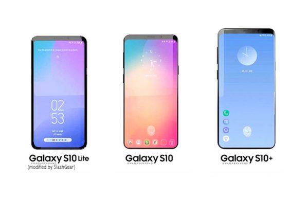 Galaxy S10 leaks colors, flat display, fingerprint