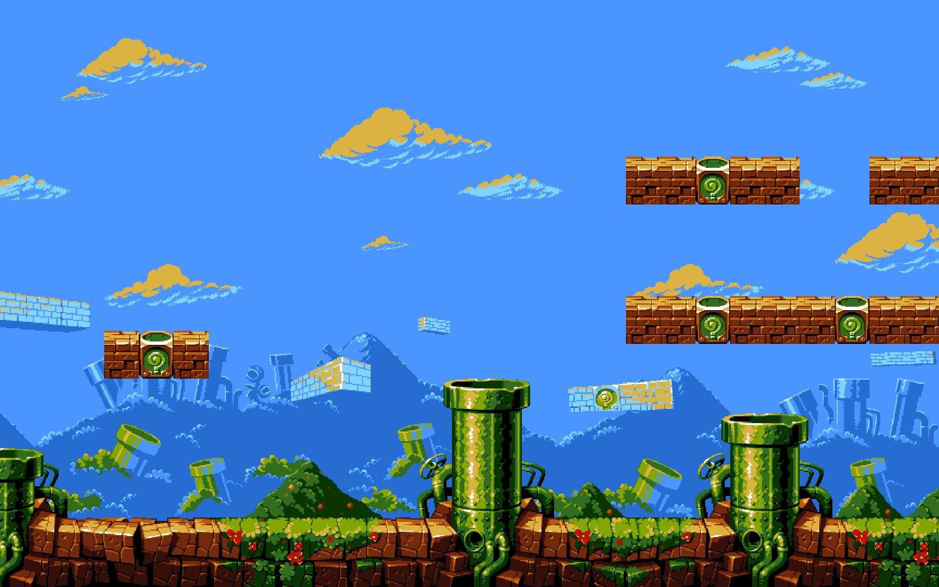 Mario Wallpapers Hd Wallpaper 1280 1024 Mario Bros Wallpaper 50 Wallpapers Adorable Wallpapers Pixel Art Mario Art Game Concept Art