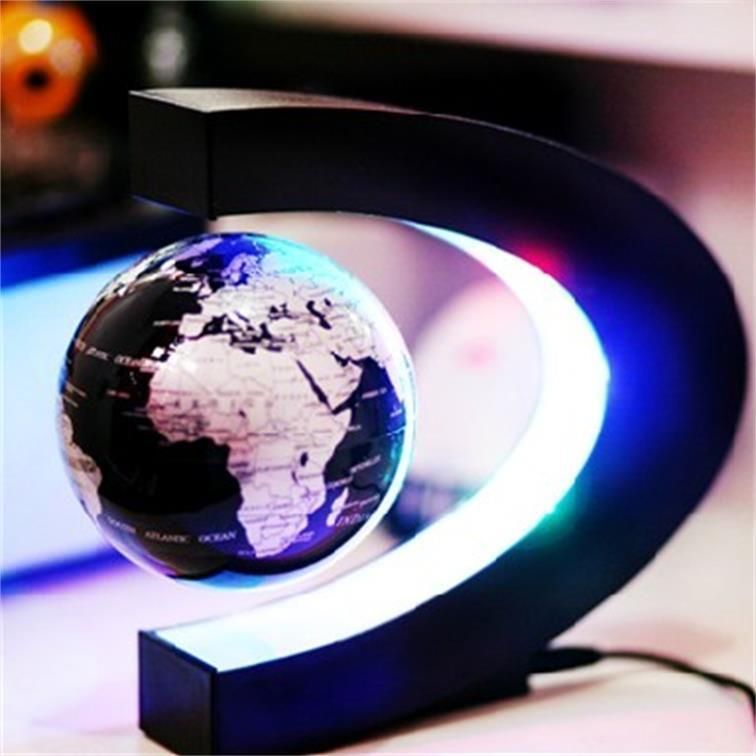 Gift decoration magnetic levitation floating maglev globe world map gift decoration magnetic levitation floating maglev globe world map desktop toys gumiabroncs Images