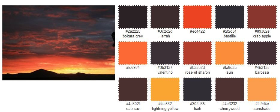 discover this amazing colour palette generator color palettes rh pinterest com amazing color schemes for websites