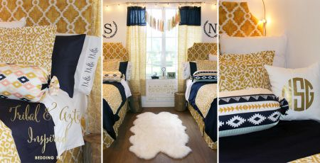 Sorority And Dorm Room Bedding And Decor Dorm Room