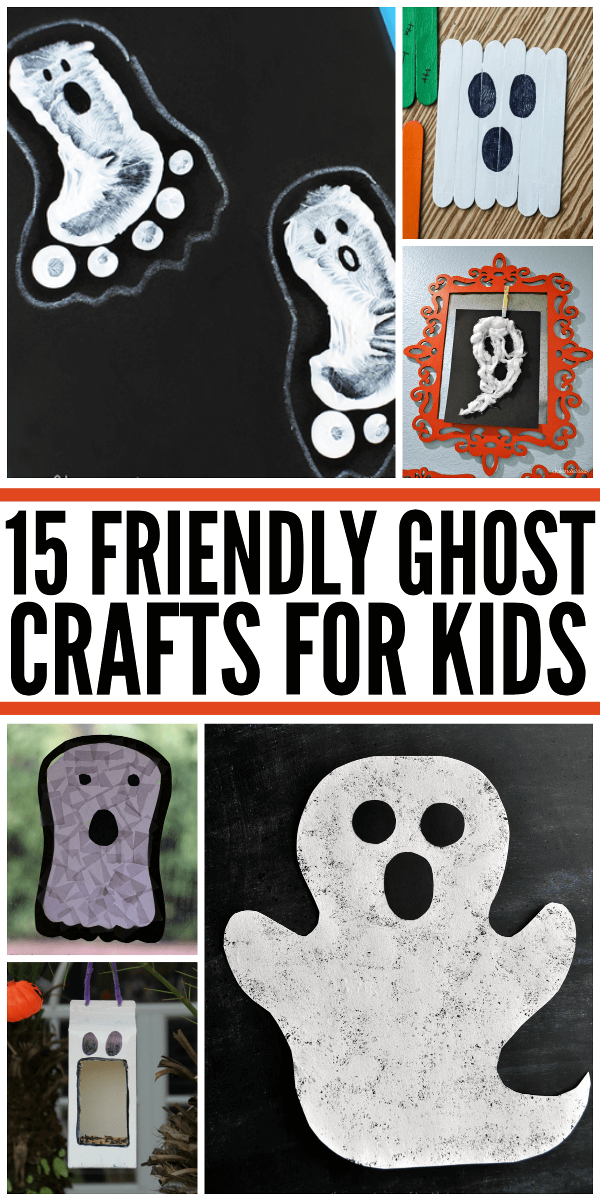15 Friendly Ghost Crafts For Kids