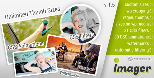 Imager Amazing Image Tool for WordPress Wordpress