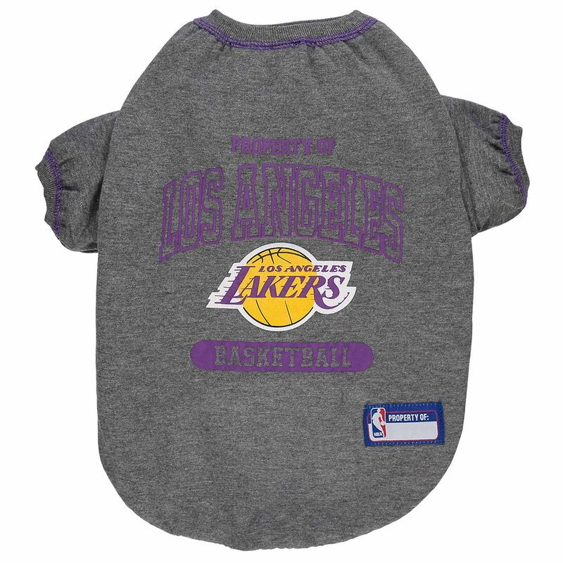 71e77357199 Los Angeles Lakers Dog T-Shirt