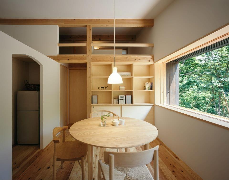 Hakuba mountain villa in Japan. Designed by irei-satoshi.