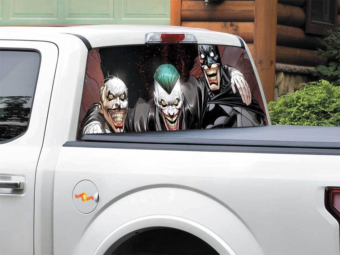 Product Alfred Pennyworth Batman Joker Dc Comics Rear Window Decal Sticker Pick Up Truck Suv Car Any Size Rear Window Decals Rear Window Joker Dc Comics [ 824 x 1100 Pixel ]