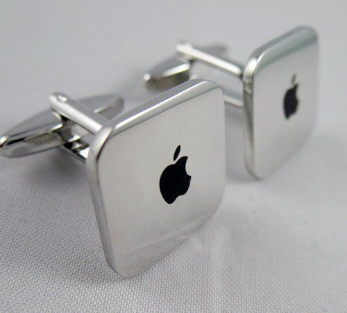 Mac Apple Cufflinks Available @ Etsy.com