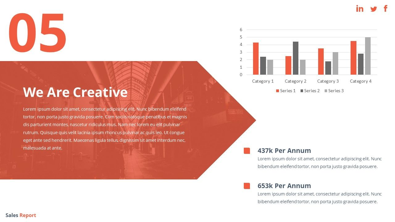 Sales Report Powerpoint Template Powerpoint Templates Templates