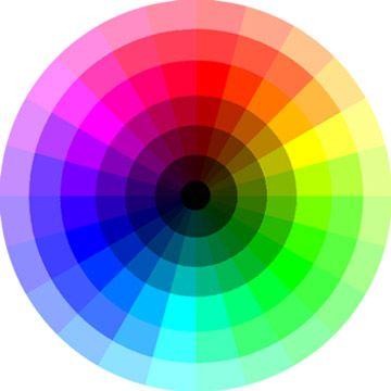 couleurs complmentaires sur la roue chromatique - Cercle Chromatique Couleurs Complementaires
