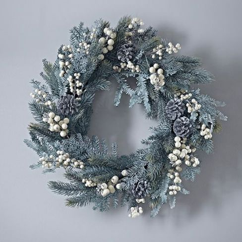 This winter berry door wreath is a classic arrangement to welcome your Christmas guests over the & This winter berry door wreath is a classic arrangement to welcome ...