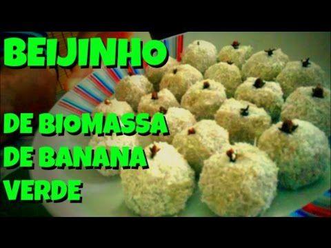 Brigadeiro De Biomassa De Banana Verde Brigadeiro Fit Youtube