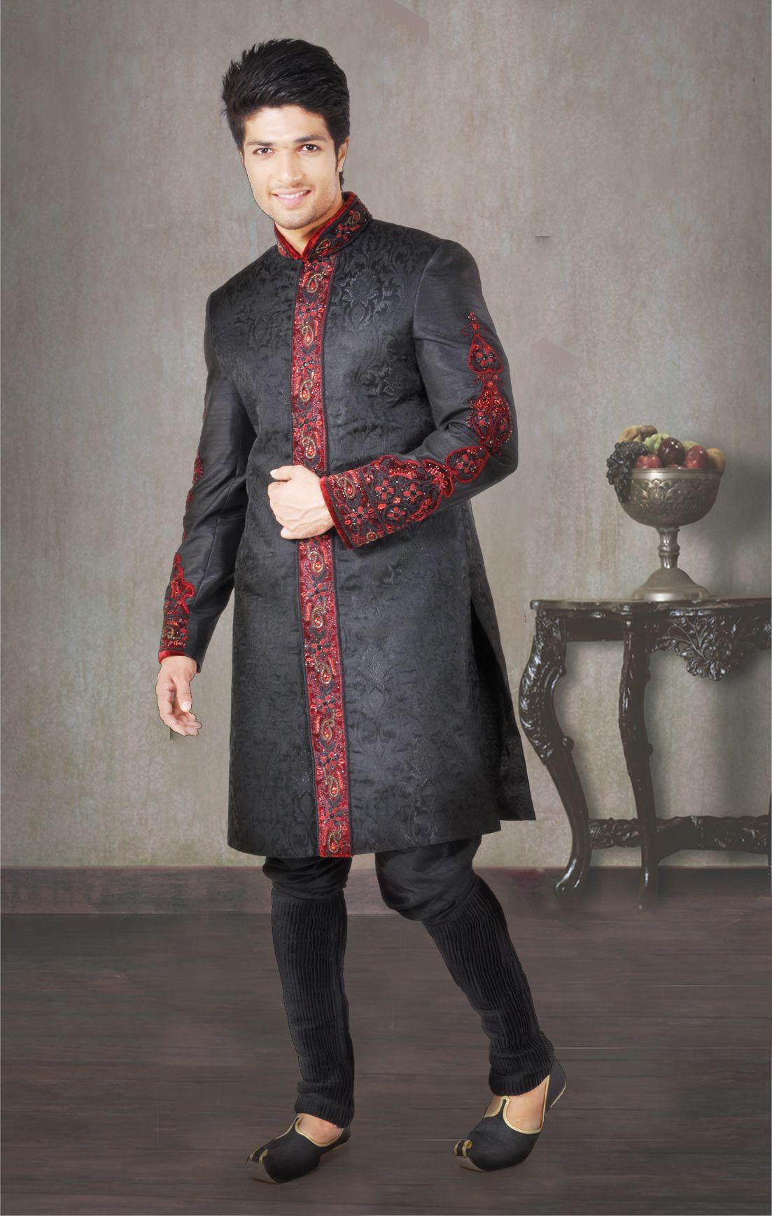 Men Wear Kurta Pajama For Kurtas Wedding Sherwani