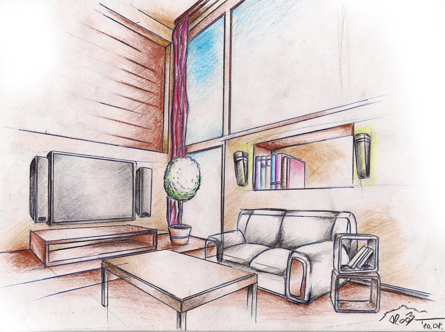 Elite Interior Designers Drawings Drawing 1 By Sloeb