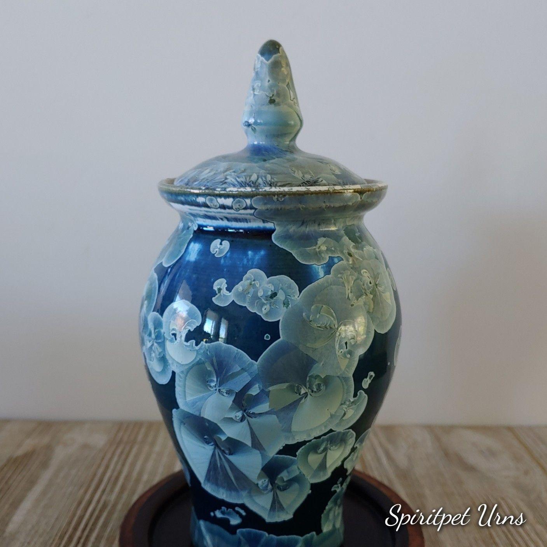 Pin By Spiritpet Urns On Blue Pet Urn Blue Ceramic Pet Urn Cat Urn Dog Urn Pretty Pet Urns In 2020 Cat Urns Dog Urns Pet Urns Cat
