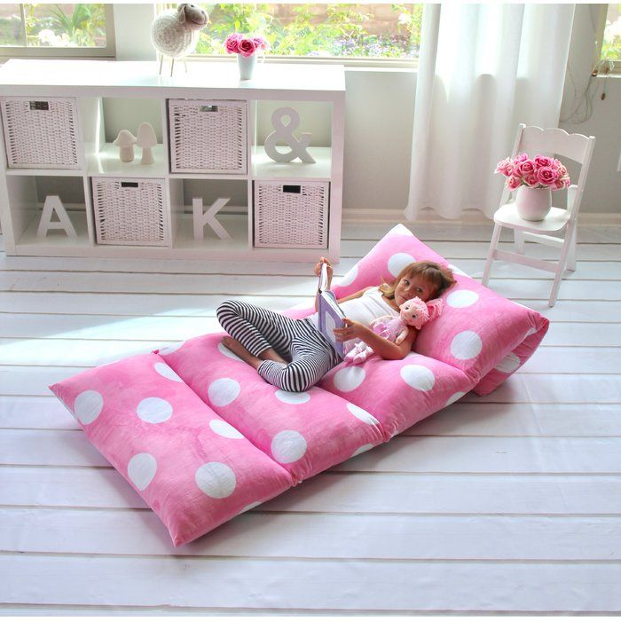 Polka Dot Chaise Lounge Slipcover Diy Floor Cushions