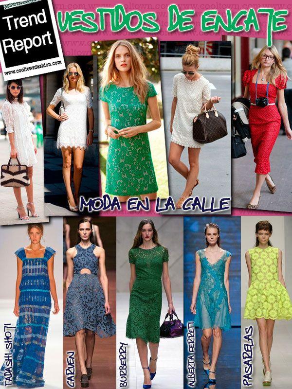 Lace dresses, vestidos de encaje