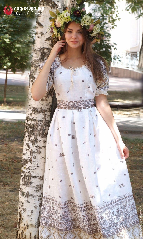 241e0cb28ea9a5c Купить Платье Отрада - славянский стиль, свадебное платье, свадебная  одежда, русский стиль