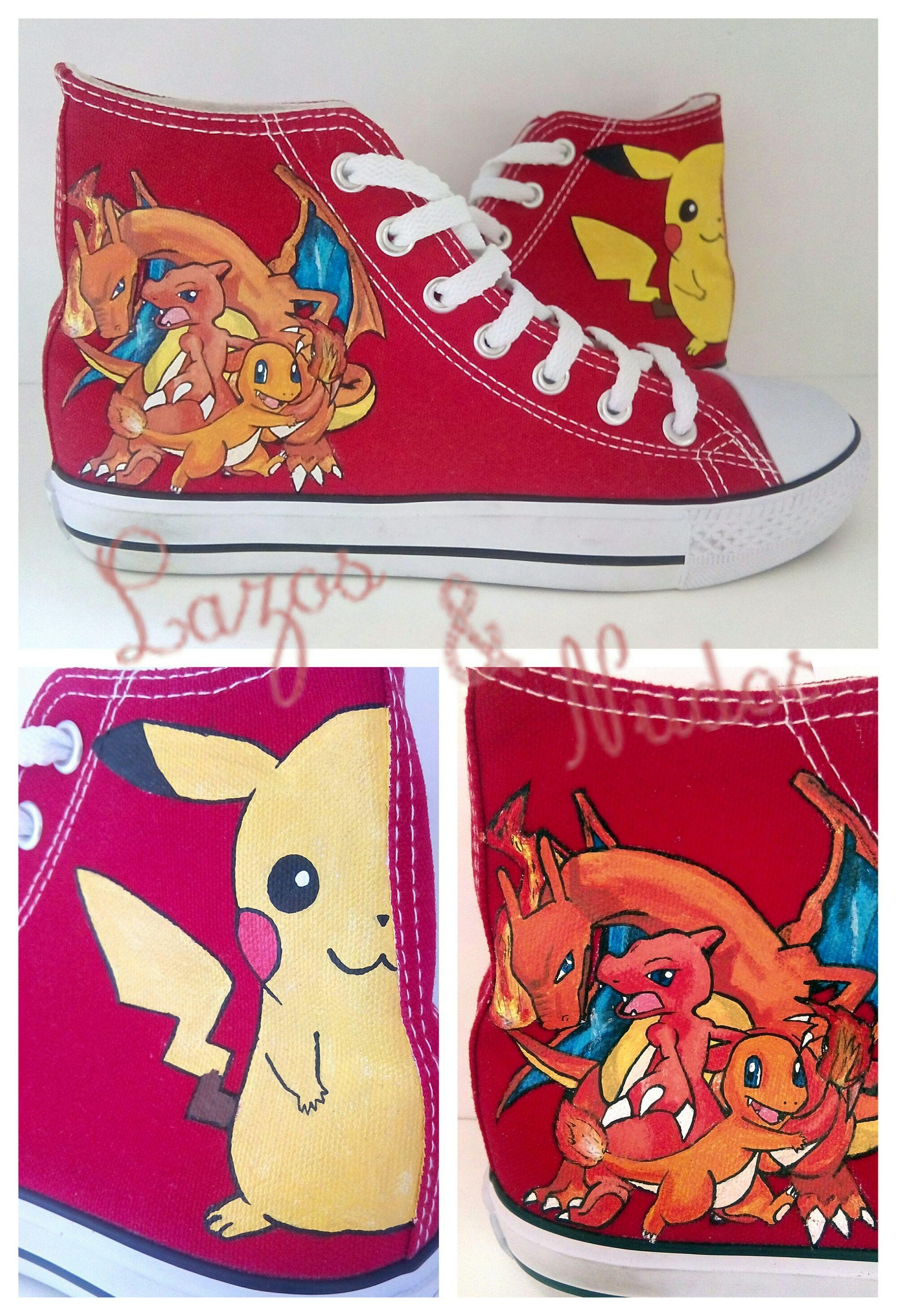 Kit Pokemon!   Zapatillas personalizadas, Zapatillas, Pokemon go
