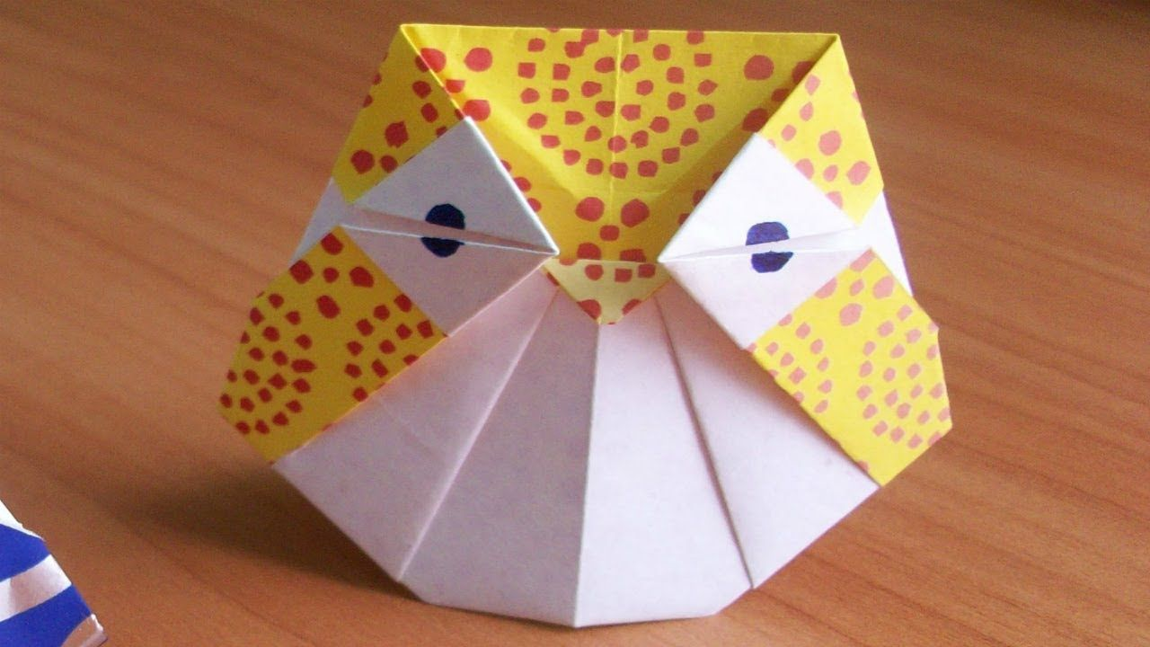 Easy Origami Owl Instructions - YouTube | 720x1280