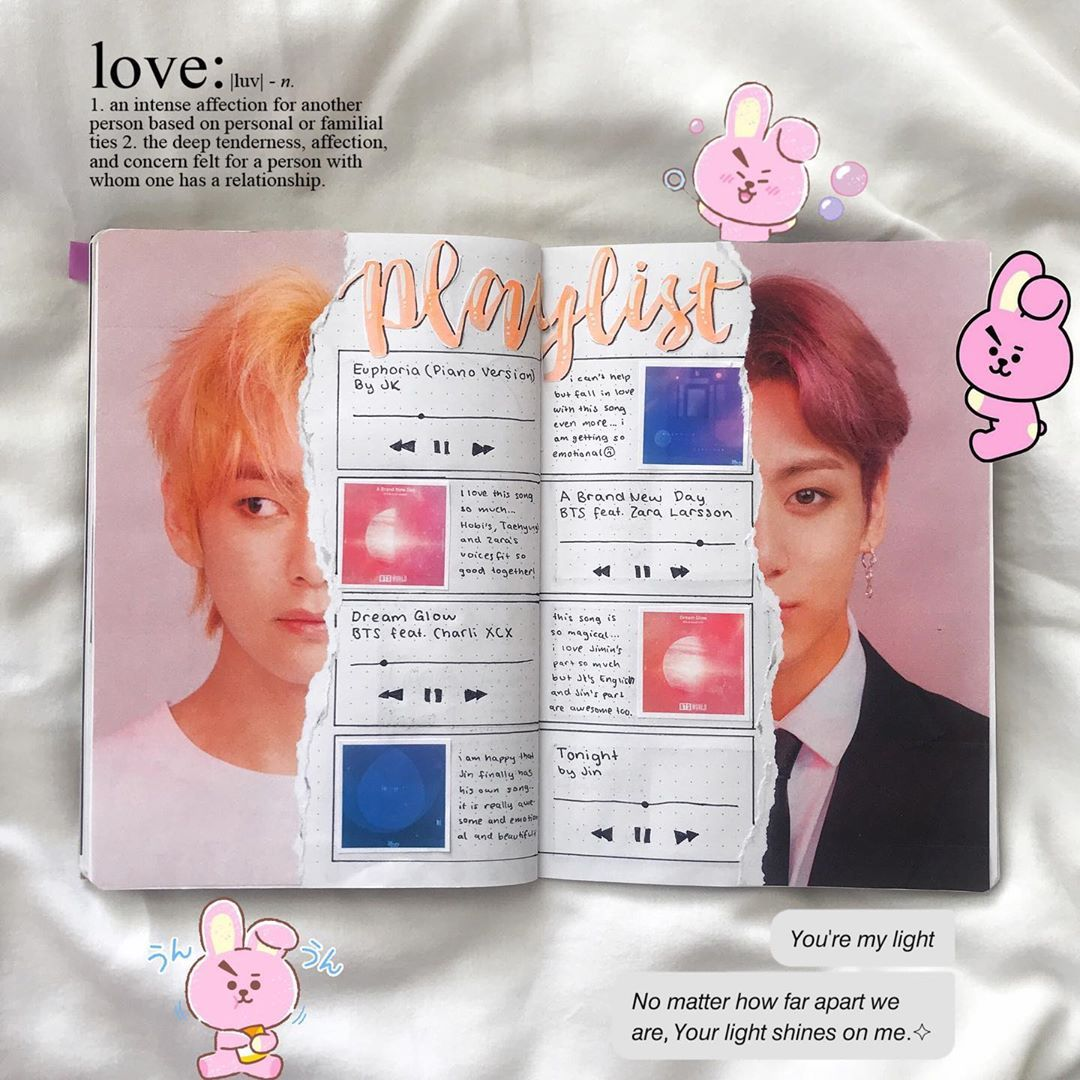 Which One Is Your Favourite Ost From Bts World Another Repost It S The Last One Bullet Journal Ideas Pages Bullet Journal Aesthetic Bullet Journal Writing