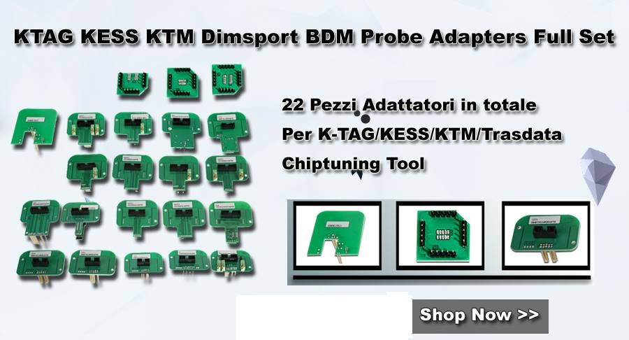 BDMProbe22in1 BDM Probe 22 in 1 KTAG KESS KTM Dimsport Full