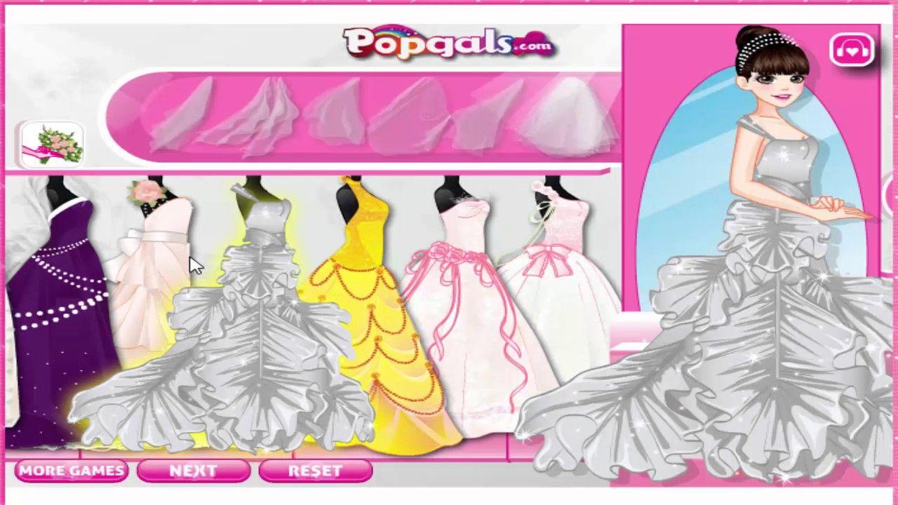Disney Princess Games Gorgeous Bride Dress डिज्नी ...