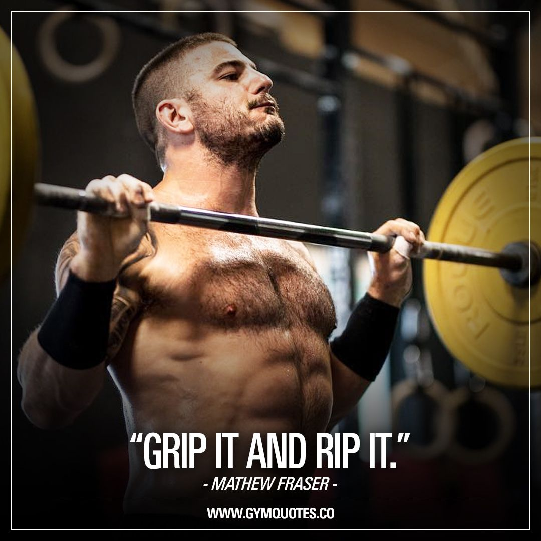 Grip It And Rip It Crossfit Mathew Fraser Mathew Mat Fraser Is An American Crossfit Athlete Wh Crossfit Inspiration Crossfit Motivation Fraser Crossfit