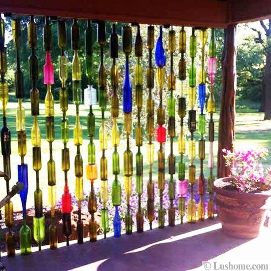 22 Glass Recycling Ideas To Reuse And Recycle Empty Bottles Wine