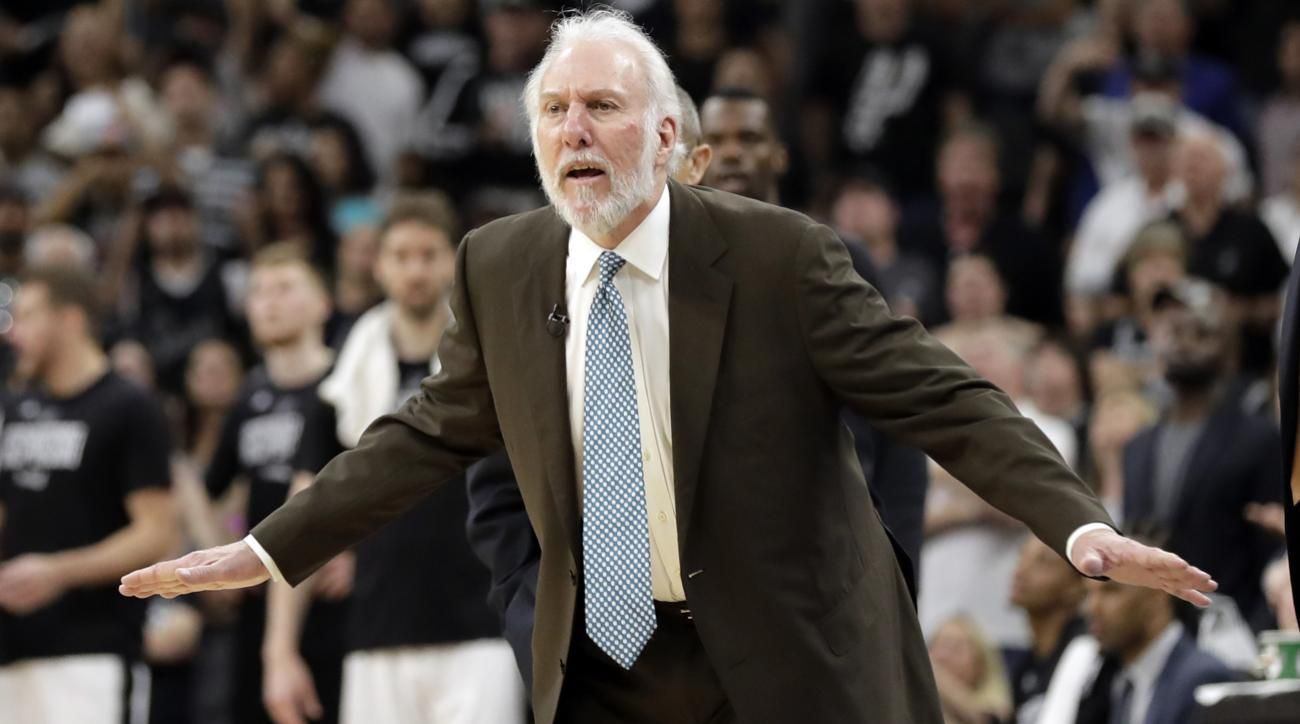 Lebron james continues to state case that gregg popovich is the best coach ever foxsports com - Gregg Popovich On President Trump Embarrassing Dangerous To Our Institutions