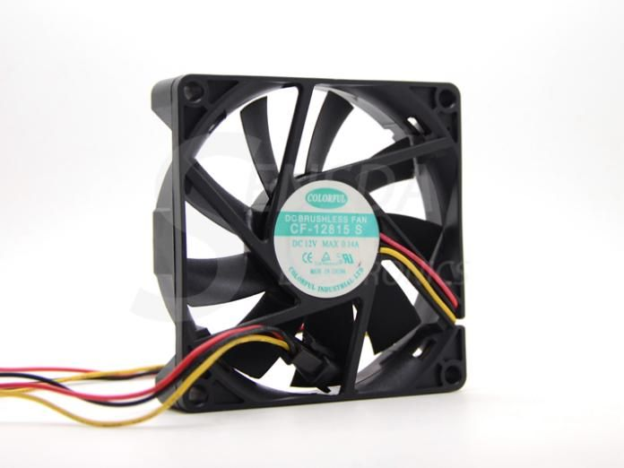 Colorful Fan Blower Cf 12815 S Cf 12815s 80mm 8cm Dc 12v 0 14a