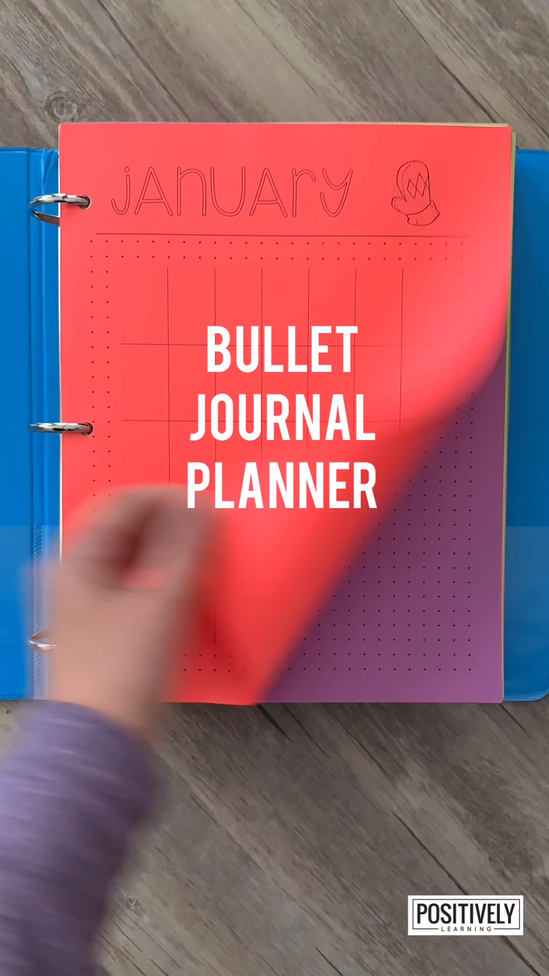 Teacher Planner #teacherplannerfree The last teacher planner you'll need - reprint EVERY year. Bullet Journal style pages with dot grids - perfect for the Type A planners, like me! From Positively Learning #teacherplanner #bulletjournal #planner #teacherplannerfree